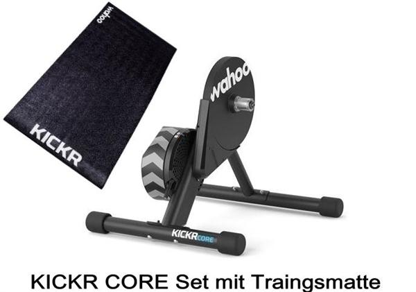 Wahoo Kickr Core Smart Trainer Bundle with Kickr Floormate