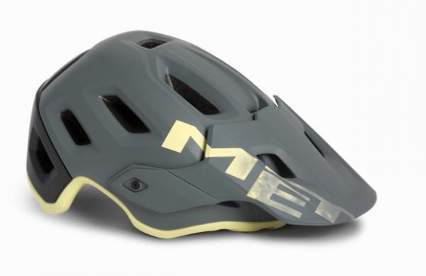 Met Roam Helmet gray tender yellow