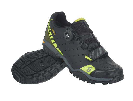 SCOTT Sport Trail Evo Gore-Tex® Schuh caviar black/sulphur yellow