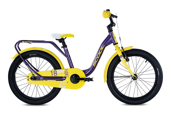 S´COOL niXe 18 Aluminium 1-Gang purple metallic/yellow