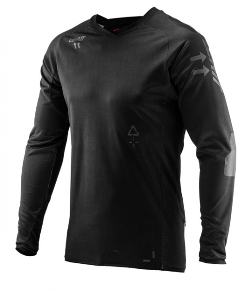 Leatt DBX 5.0 Jersey All Mountain schwarz