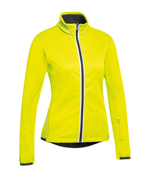 Gonso Lucite Damen Thermo Jacke safety yellow