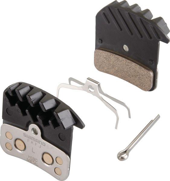 Shimano disc brake pads H03C SAINT / ZEE Metal