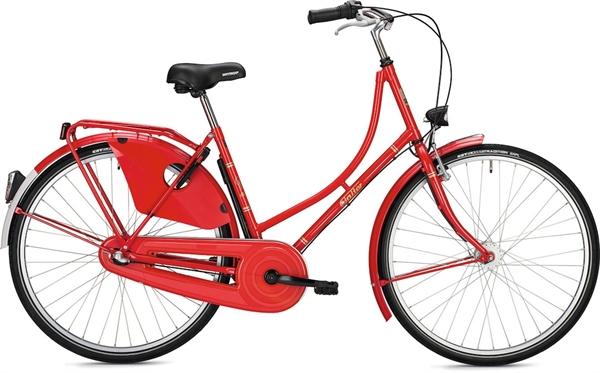 "Falter Classic Bike H 1.0 Classic S (45) 26 ""glossy, red"