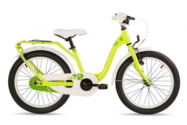S´COOL niXe 18 Stahl 1-Gang yellow/green %