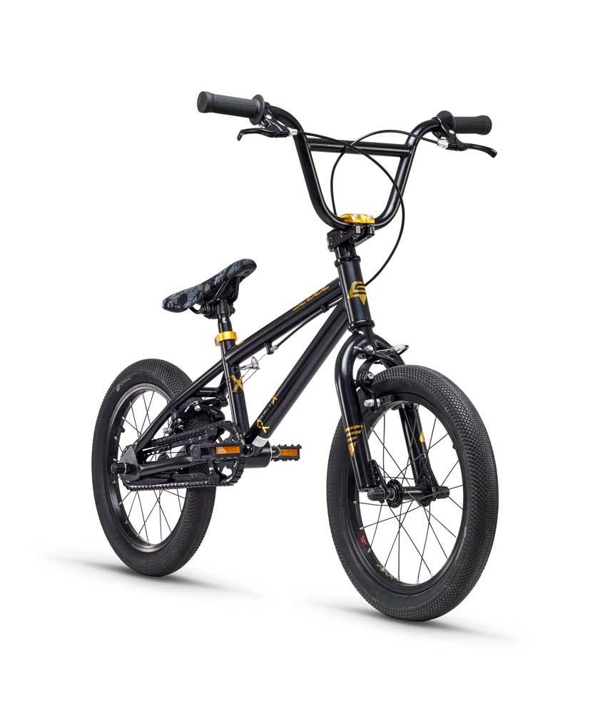 """BMX BLACK MID SIZE HANDLEBAR 16"""" 18"""" 20"""" WHEEL FOR 4 BOLT STEM 580mm"""