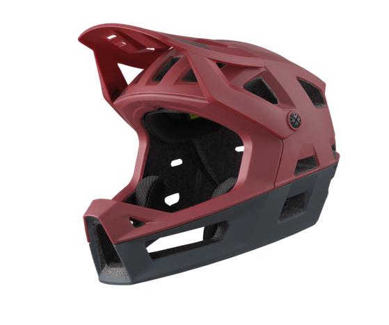 IXS Trigger FF Helmet dark red