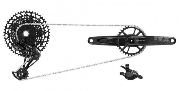 SRAM Komplettgruppe NX Eagle - DUB 1x12-fach - schwarz - 170mm / 32-50