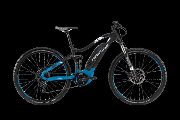 Haibike SDURO Fullnine 5.0 schwarz/blau/weiß 2018
