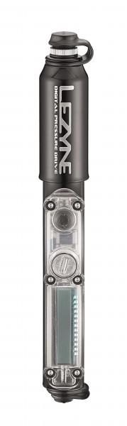 Lezyne Digital Pressure Drive mini pump shiny-black