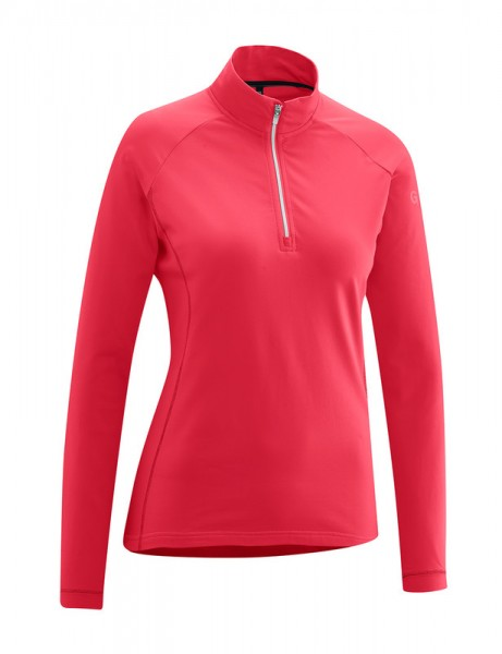 Gonso Antje ladies commuter top fiery coral