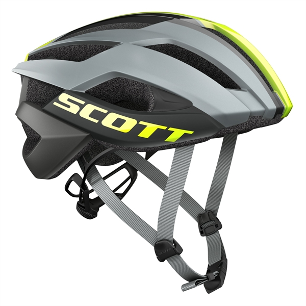 Scott Helm Arx Plus - grey/yellow