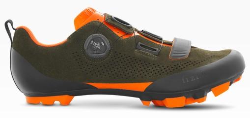 Fizik Terra X5 Suede MTB Schuh green/orange
