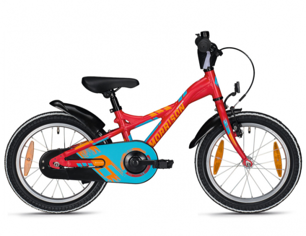 Morrison Kaska 16 Zoll Y-Lite rot/blau Kinderrad