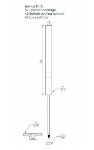 Contec Service Kit A F. Drop A Gogo L125