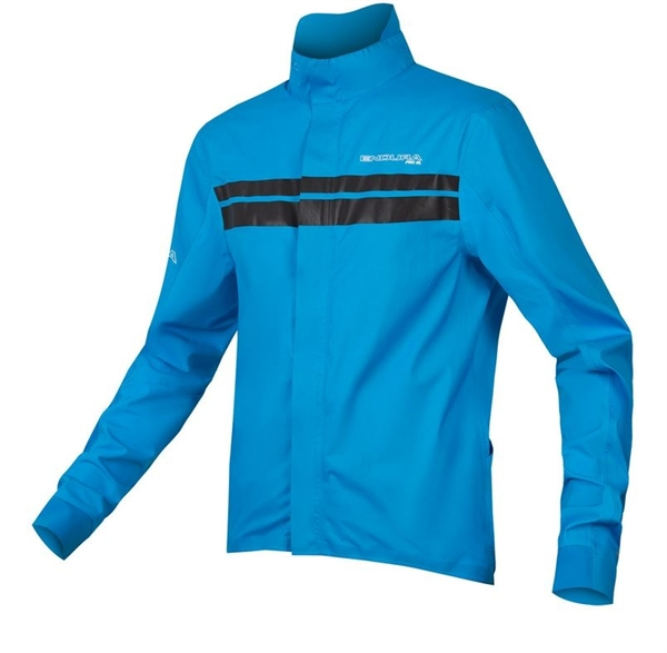 Endura Pro SL Shell Jacket II Rainjacket neon-blue