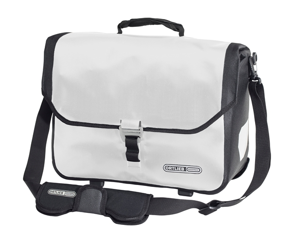Ortlieb Downtown Two QL3.1 Briefcase white black