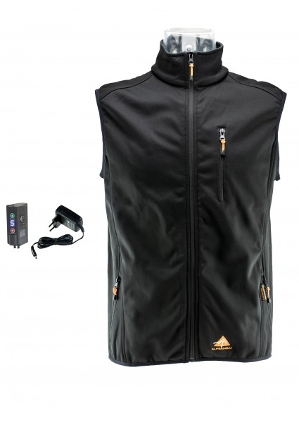 Alpenheat Fire-SoftshellVest Heated Soft-Shell Vest