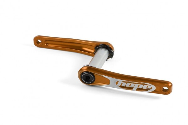 Hope Crankset 175mm/68-73mm orange