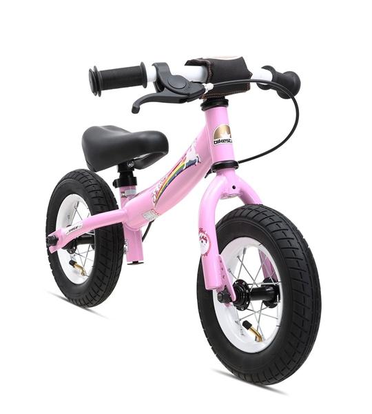 Bikestar safety children's wheel bike Sport 10'' pink Unicorn