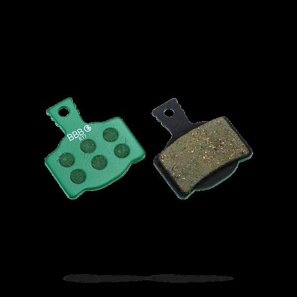 BBB brake pads DiscStop E-Bike BBS-53E grün