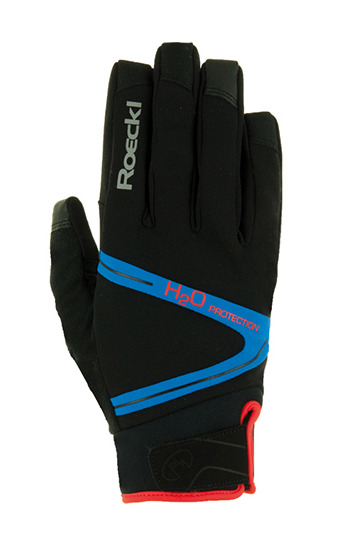 Roeckl Rhone Waterproof Gloves black/blue
