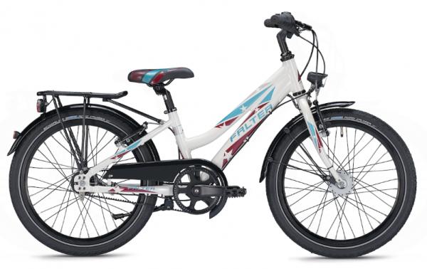 Falter FX 207 Pro 20 inch trave white Kids Bike