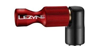 Lezyne CO2 Pumphead Trigger Drive CNC red-glossy