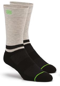 100% Block Athletic socks schwarz