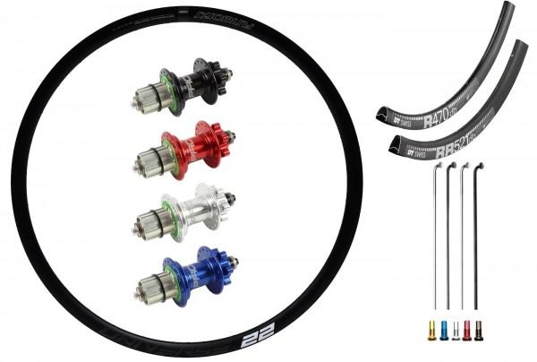"SRAM Predictive Steering Disc IS Custom Front Wheel MTB 27,5"""