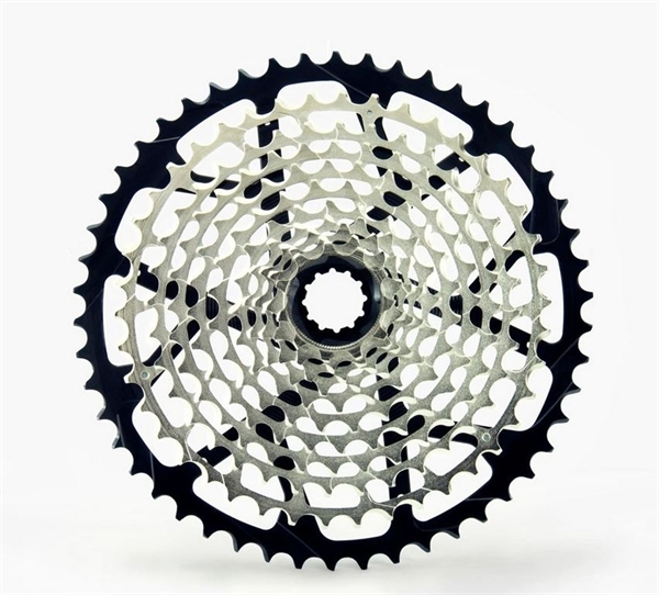 Garbaruk 11-speed Cassette 10-50T Black with Derailleur cage Shimano long