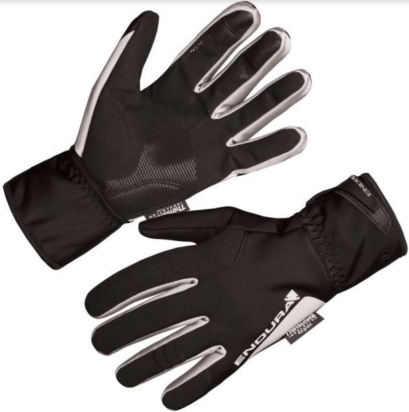 Endura Deluge II Glove winddichter Winterhandschuh schwarz