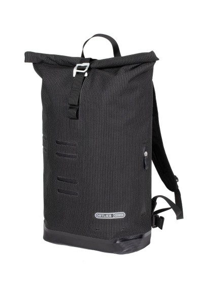 Ortlieb Commuter-Daypack High Visibility Rucksack black reflective
