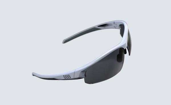 BBB Impress Sportbrille mattweiß