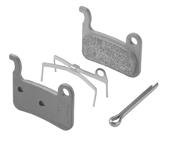 Shimano disc brake pads A01S Resin for XT BR-M775 and XTR BR-M975