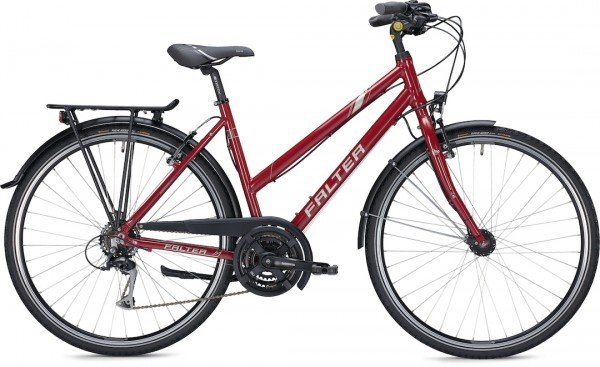 "Falter City / Urbanbike C 3.0 RD 28 ""glossy red"