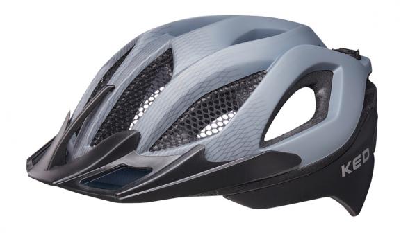 KED Spiri II MTB Helm grey black matt