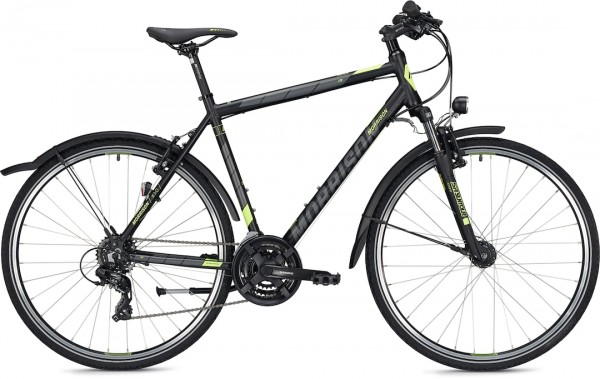 "Morrison Crossbike X 1.0 Men 28"" Black Matt 50cm"