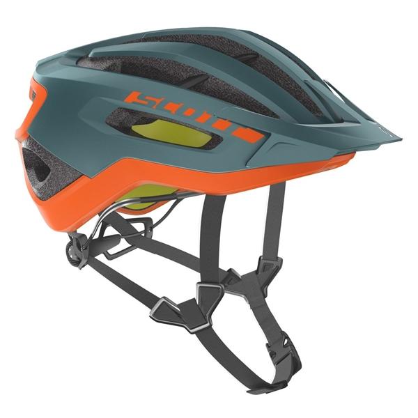 Scott Helm Fuga Plus Rev cobalt green orange
