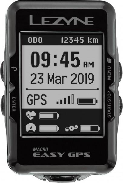 Lezyne Computer Macro Easy GPS