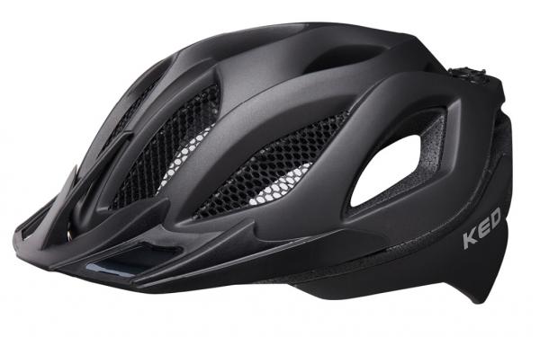 KED Spiri II MTB Helm black matt