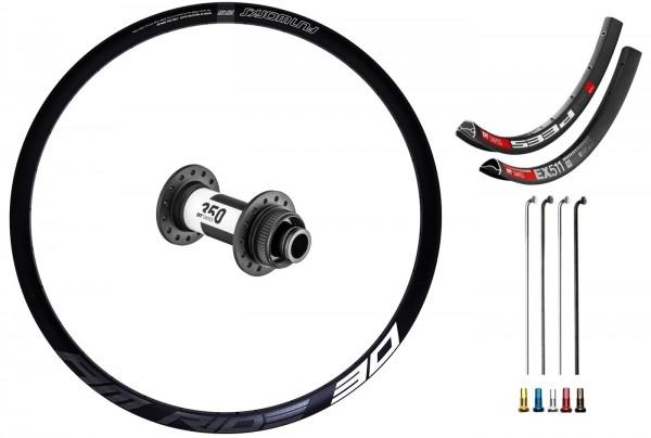 "DT Swiss 350 Disc CL Custom Front Wheel MTB 27,5"""