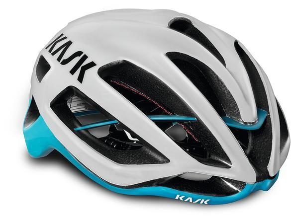 Kask Helm Protone weiß/hellblau