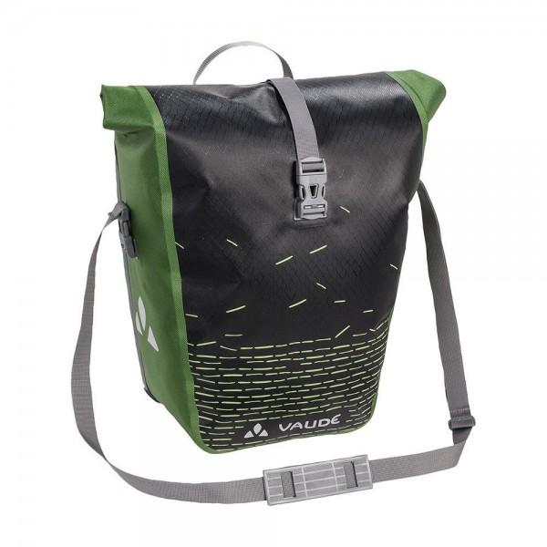 Vaude Aqua Back Single Print rear pannier black/green