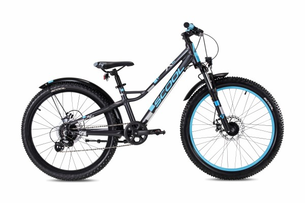 S´COOL faXe 24 alloy 8-speed darkgrey/ blue