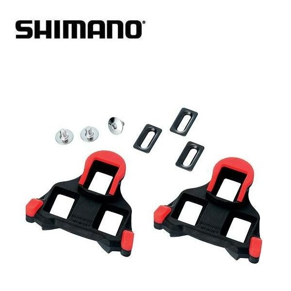 Shimano SPD-SL SM-SH10 Cleats red