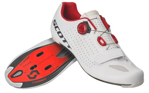 Scott Shoe Road Vertec Boa white red