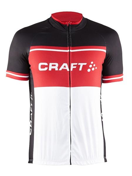 Craft Classic Logo Jersey black/red/white %
