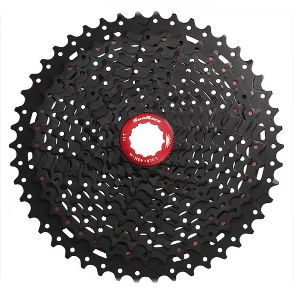 Sunrace Cassette CSMX8 EAZ 11-speed 11-46 black