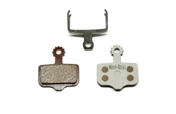 Kool Stop Brake Pads AVID Elixir/ SRAM XX - with alloy base plate